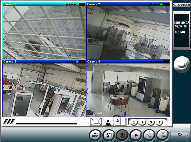 CCTV - Movimento em Tempo Real - Compressão JPEG